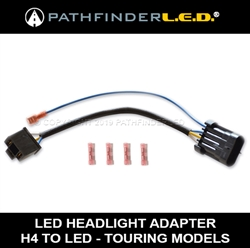 H4 LED HEADLAMP WIRING HARNESS H Wiring Harness Upgrade on